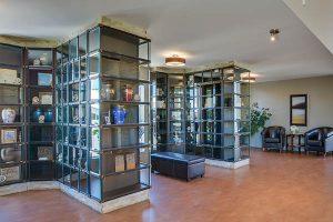Columbarium intérieur dans les Laurentides